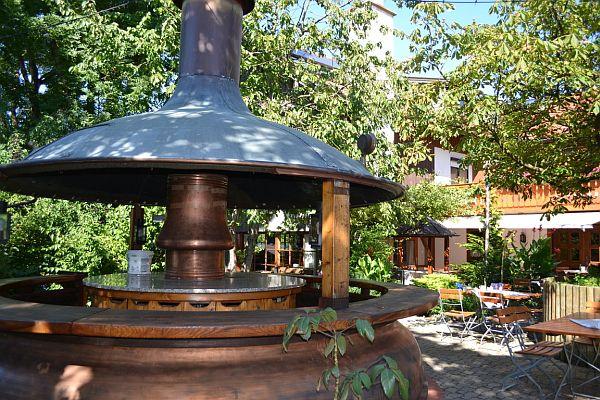 Ammersee Biergarten Landhotel zur alten Post